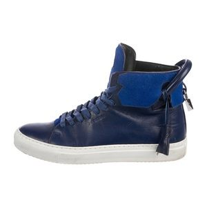 Buscemi leather high top sneakers